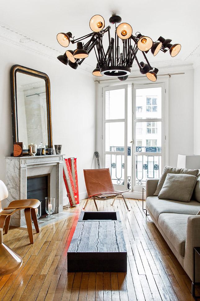Парижская квартира дизайнера по макияжу Dior