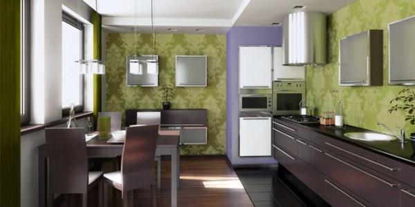 зеленые кухни-8