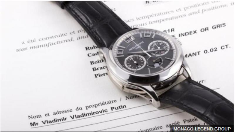 """Часы Путина"" проданы с аукциона за миллион евро"