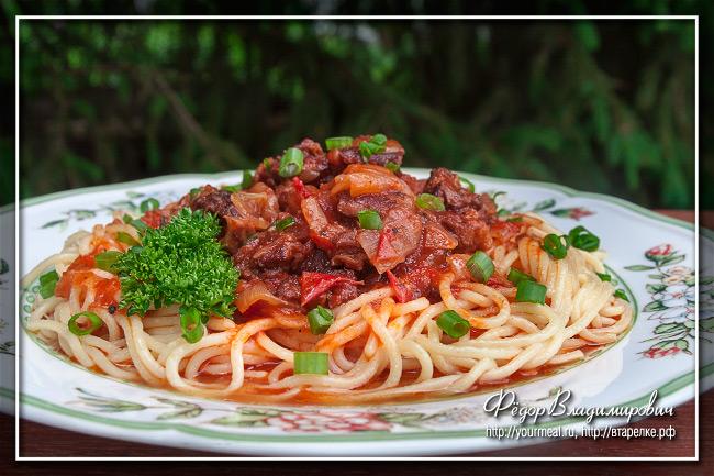 Стифадо — тушеное мясо по-гречески