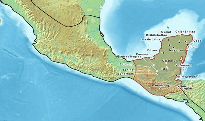 Встретить майя можно на Юкатане.