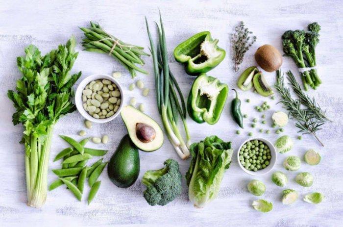 Фрукты и овощи с высоким содержанием щелочи