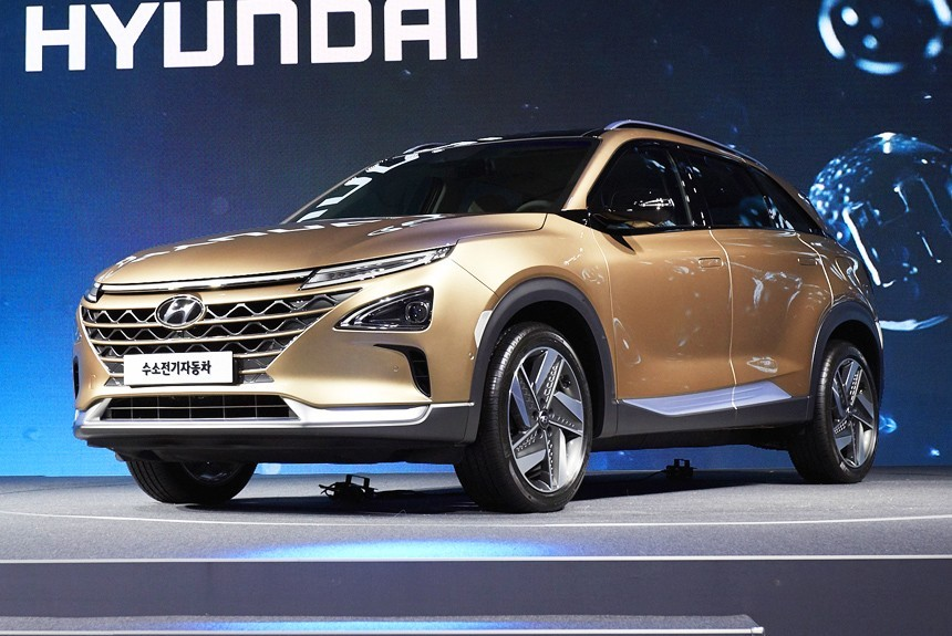 У Hyundai новый кроссовер с топливными элементами