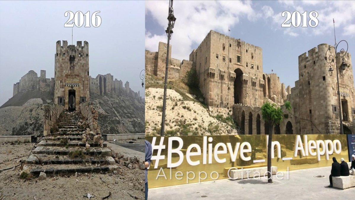 Восстановление инфраструктуры Сирии