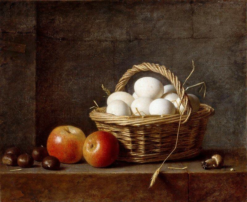 Анри-Орас-Ролан Делапорт. Корзина с яйцами.