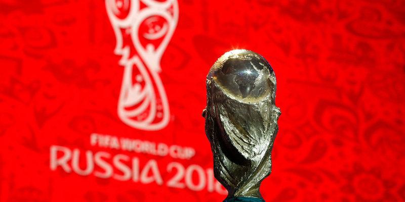 Кубок чемпионата мира прибыл во Владивосток