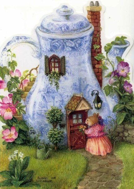 Добрые иллюстрации от Сьюзен Вилер