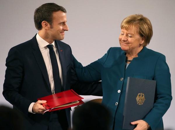 Франция и Германия подписали…