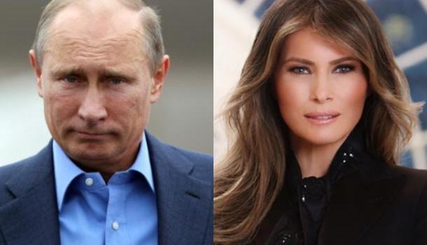 Белый дом: Путин на саммите ужинал с Меланией Трамп