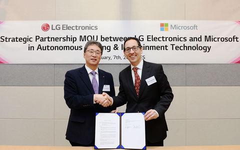 LG и Microsoft готовят автомобильную революцию