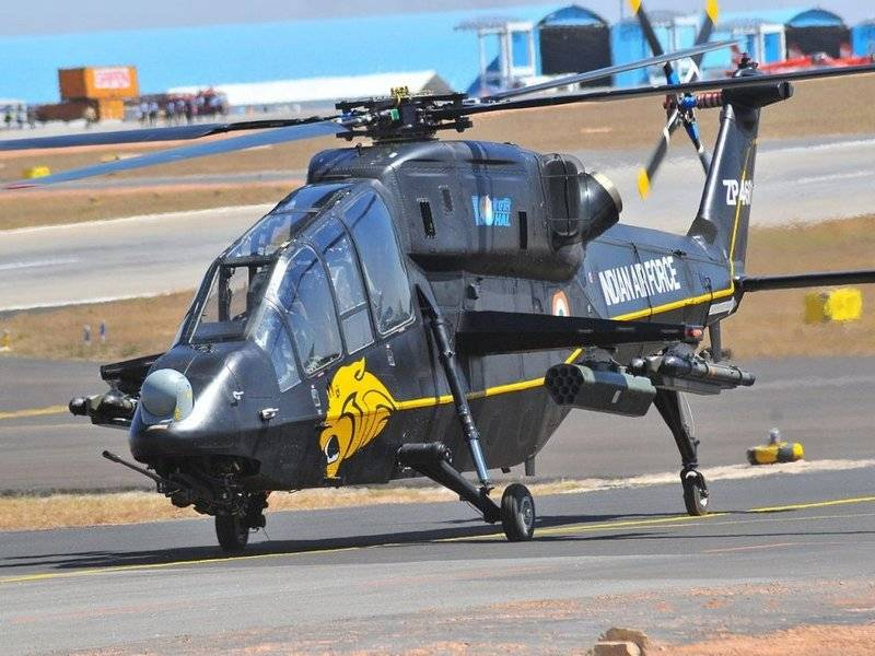 Индия объявила об окончании испытаний ударного вертолёта LCH