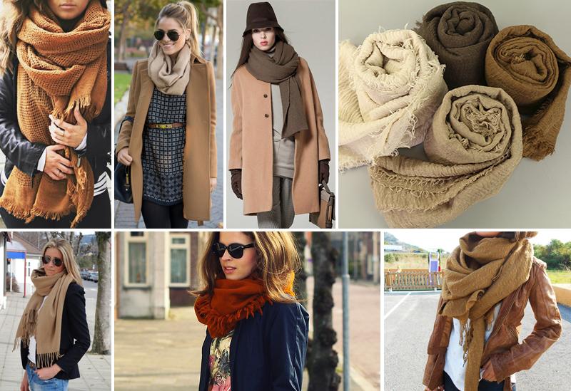 Пора завязывать: как носить шарф, платок, тюрбан, снуд, палантин, косынку
