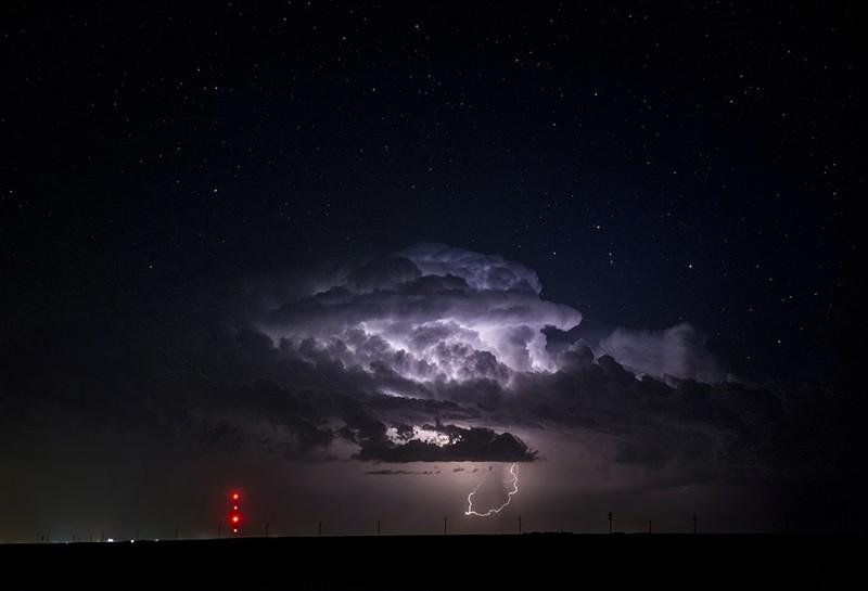 Бури и ураганы на снимках Райана Вунша буря, природа. красота, ураган