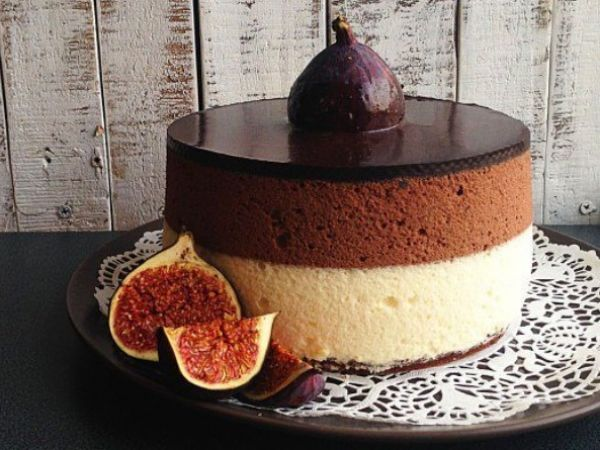 Нежный сливочно-шоколадный торт для истинных гурманов!