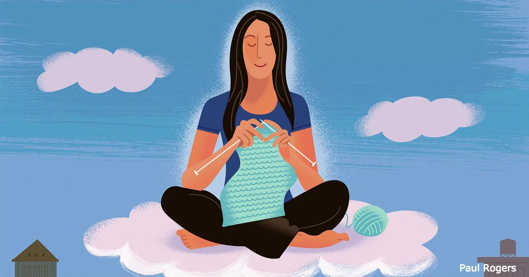 Вязание - модное хобби. Но, что происходит с женским мозгом, пока они сидят и вяжут?