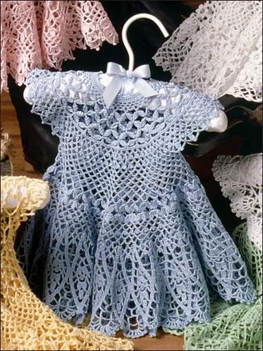 Голубое детское платье - мечта маленькой принцесы