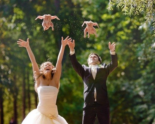 Лицо в салате и слезах: это свадьба, детка!