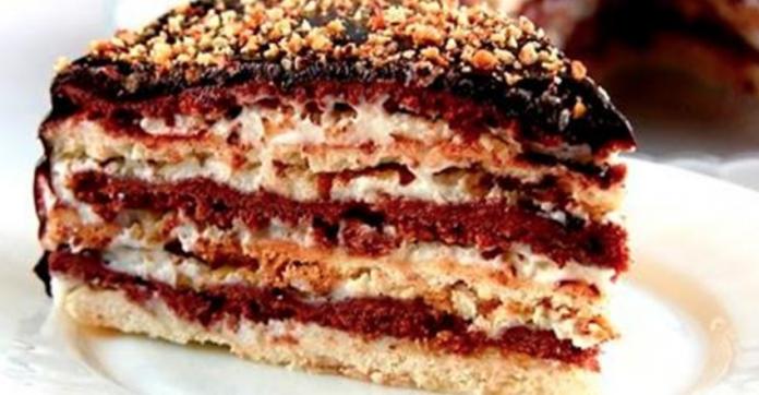 Торт  Мишка или простой домашний Сметанник