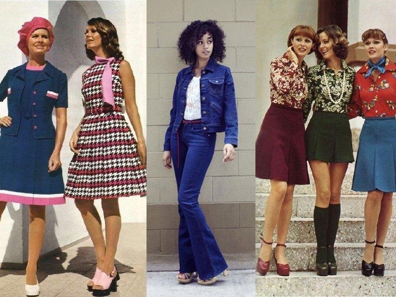 «Десятилетие безвкусицы» Мода 70-х годов.