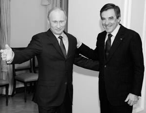 Путин и Фийон смогут разговаривать на равных - как два президента двух суверенных государств