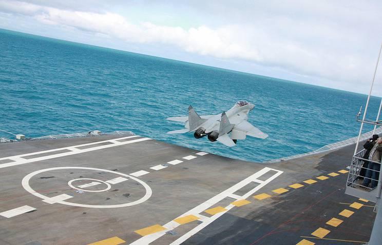 Морской МиГ-29К: что известно о палубном истребителе ВМФ РФ