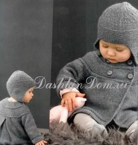 шапочка для малыша описание