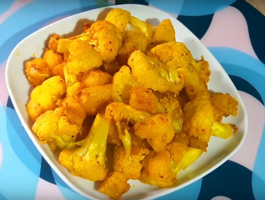 Цветная капуста с картофелем: вкусное блюдо в пост
