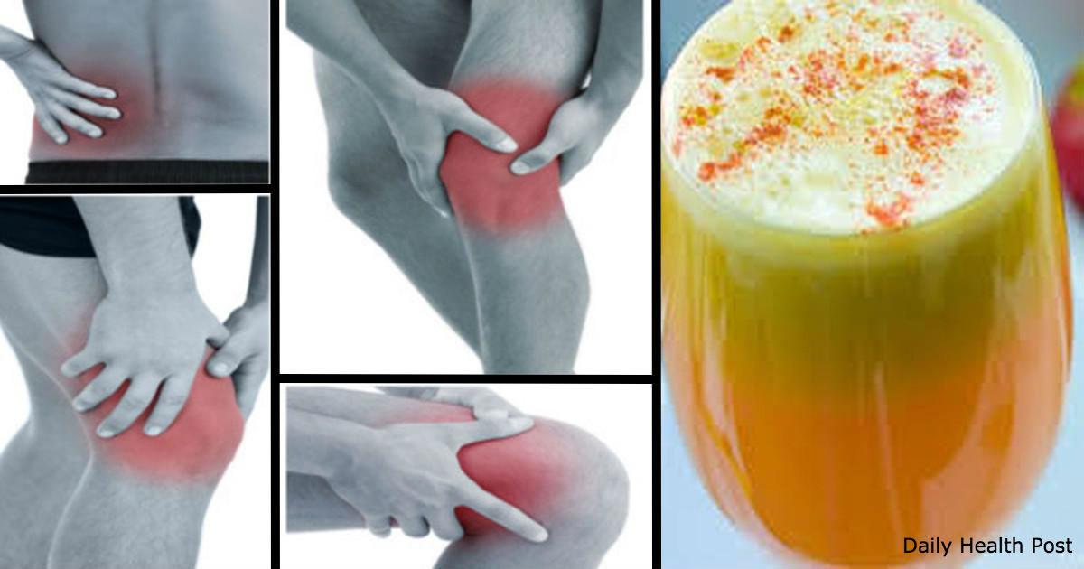 Народное средство от боли в коленях, костях и суставах