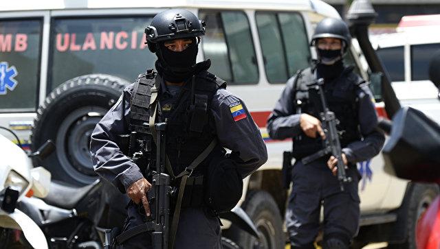 Новости мира: В столице Венесуэлы полиция разгоняет марш оппозиции
