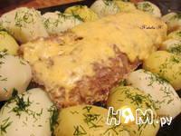 Приготовление мясного рулета с яйцом и грибами: шаг 14