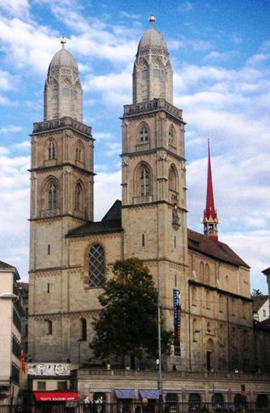 Гроссмюнстер в Цюрихе