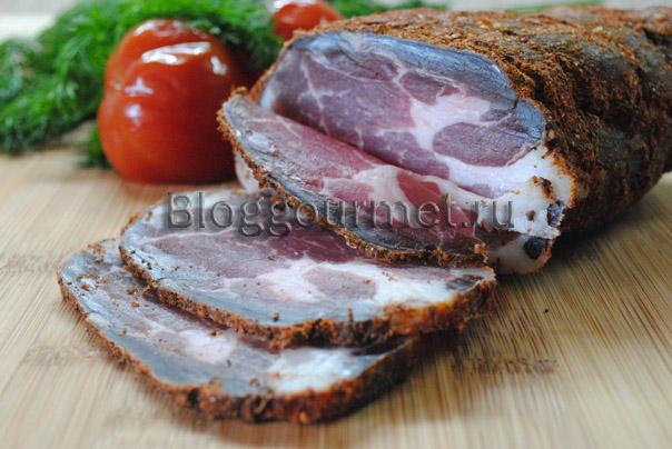 Рецепт сыровяленого мяса в домашних условиях видео