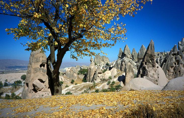 Осень в Каппадокии. Турция. Фото