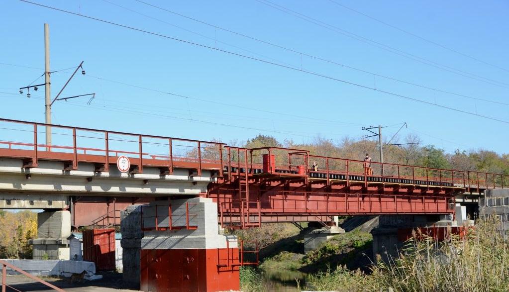 Под Горловкой восстановили ж/д мост, который дает возможность совершать перевозки за пределы ДНР