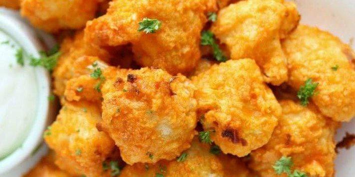 Как приготовить цветную капусту в духовке в кляре с острым соусом