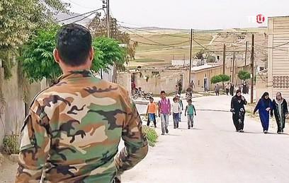 За сутки город Дума в Восточной Гуте покинули более 1,7 тысячи мирных жителей