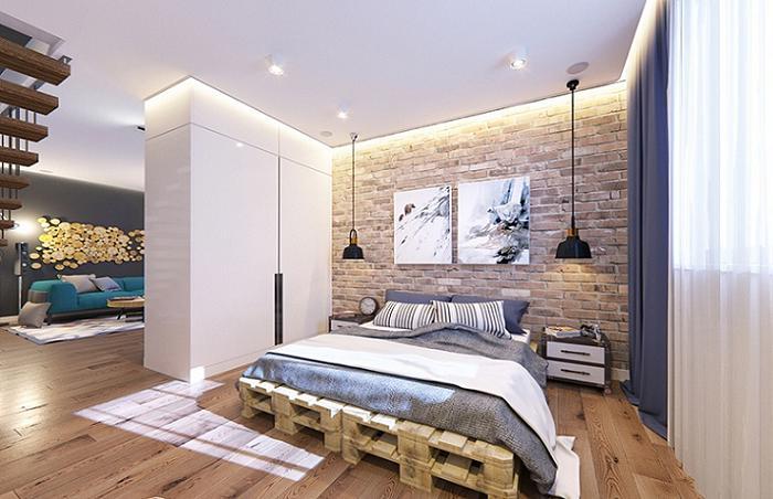 23 идеи, как из обычных поддонов сделать кровати с минимальными финансовыми затратами
