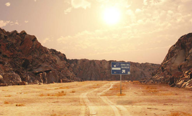 Бермудский треугольник в мексиканской пустыне