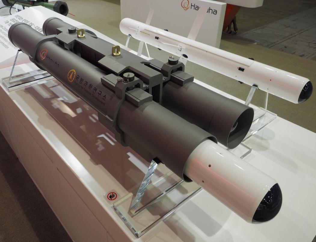 Перспективная южнокорейская противотанковая управляемая ракета Tank Sniper