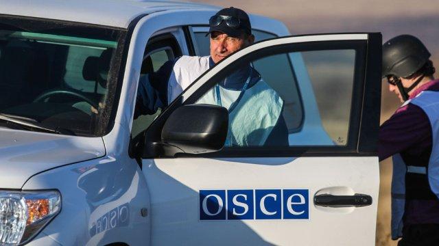 ОБСЕ хочет, чтобы ее миссию уважали на Донбассе