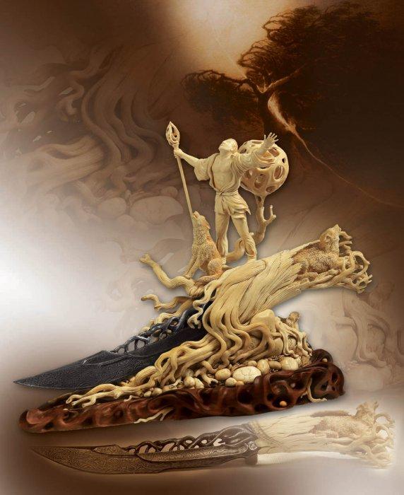Огонь Творящий -мой Отец, а Мать - глубокая земля...