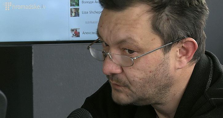 Киевский телеведущий перешел на русский язык, протестуя против украинизации эфира