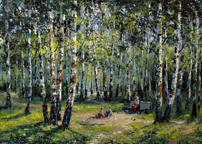 художник Евгений Синев картины - 16