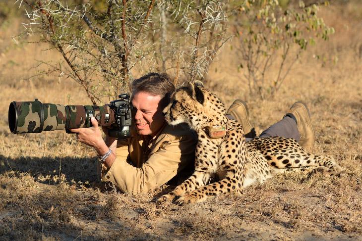 Фотографы дикой природы и их модели