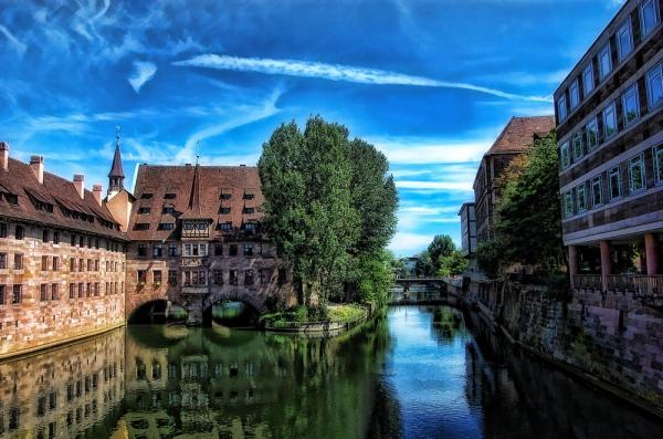 Нюрнберг. 10 самых красивых городов Германии. Интересные города Германии, которые обязательно стоит посетить. Фото с сайта NewPix.ru