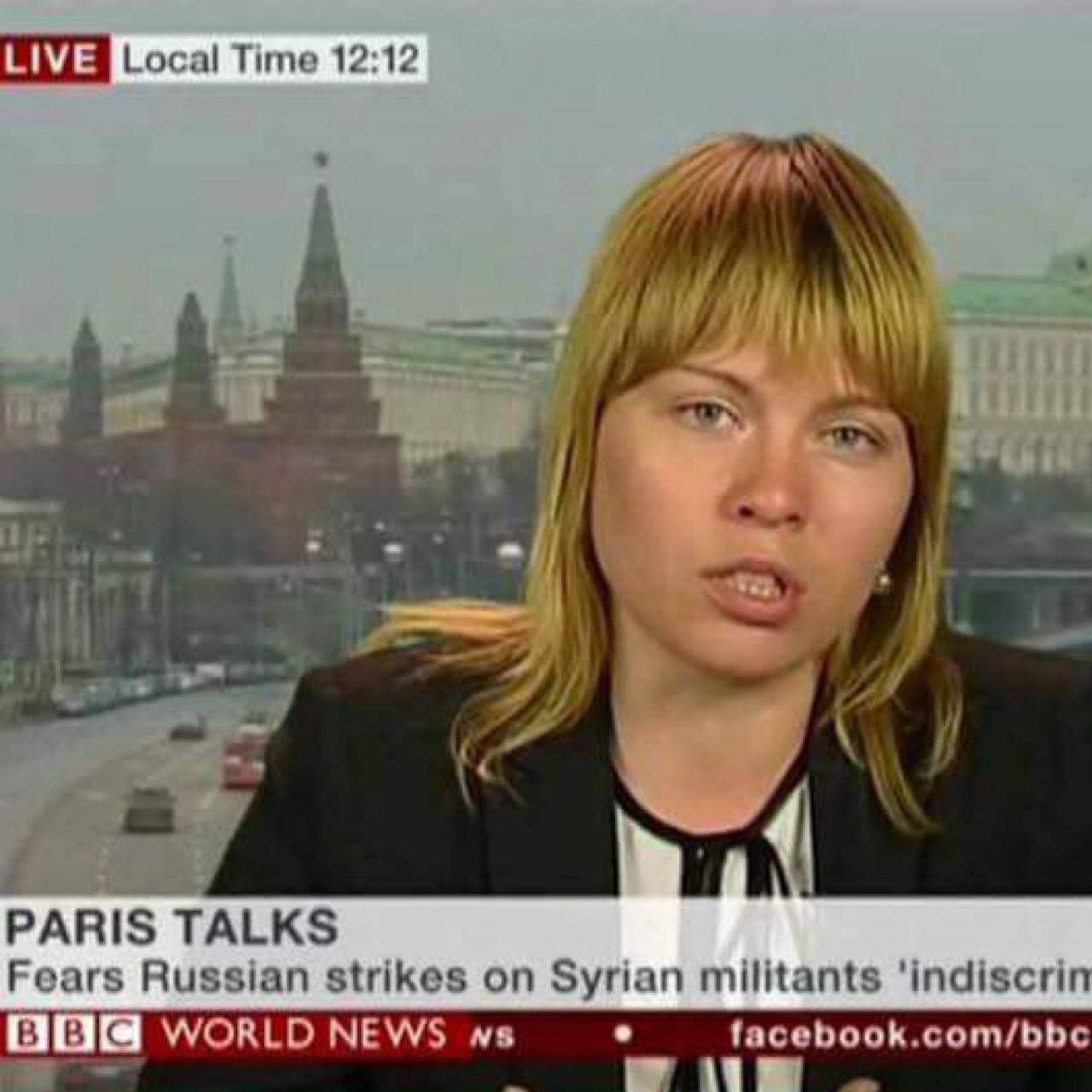 Русская журналистка слила в Сеть секреты фейков BBC