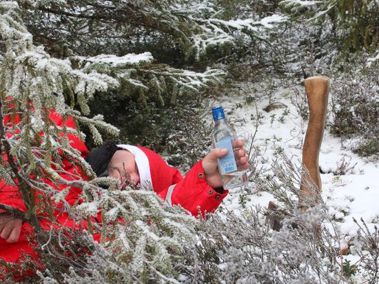 Смертельный алкомарафон: бурные новогодние праздники унесут жизни 18 000 россиян