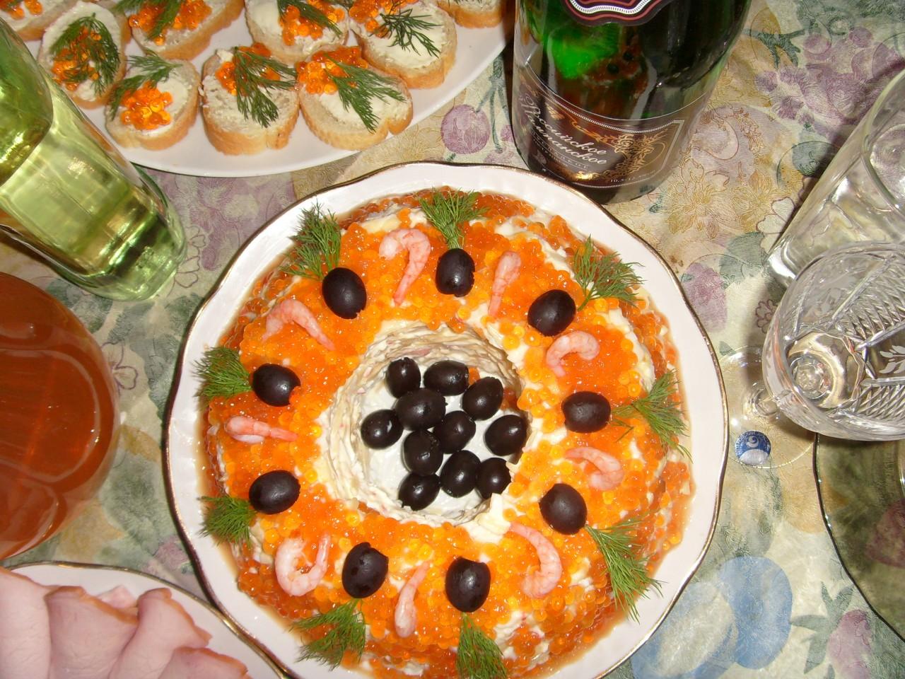 Салат царский с мясом рецепт с фото
