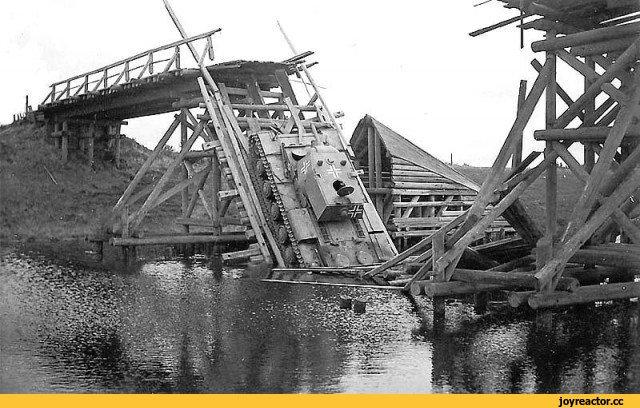 Танки против мостов