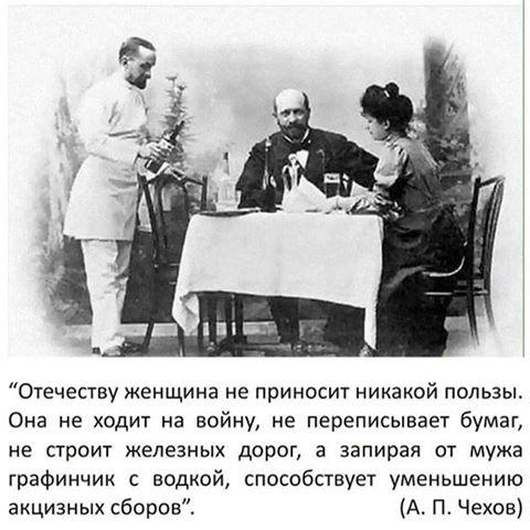 Антон Чехов «О ЖЕНЩИНАХ»